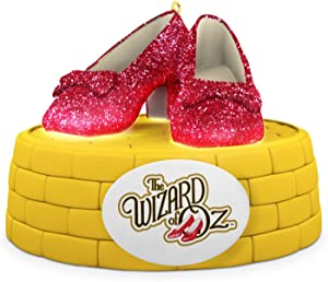 Hallmark 2016 Christmas Ornament THE WIZARD OF OZ RUBY SLIPPERS Ornament With Lights