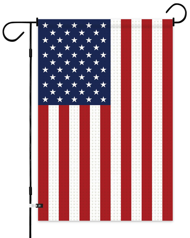 12 x 18 Garden Flag - Yard Flags Decorations Double Sided Garden Flags for Home Patio Decor (USA)