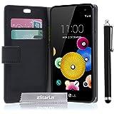 zStarLn® nior Luxe Portefeuille Etui Housse pour LG K4 Coque en PU cuir + 3 Films en Stylet Touch Pen OFFERTS
