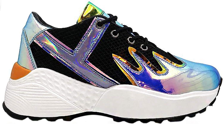 YRU Y.R.U Blaz3 Platform Sneakers