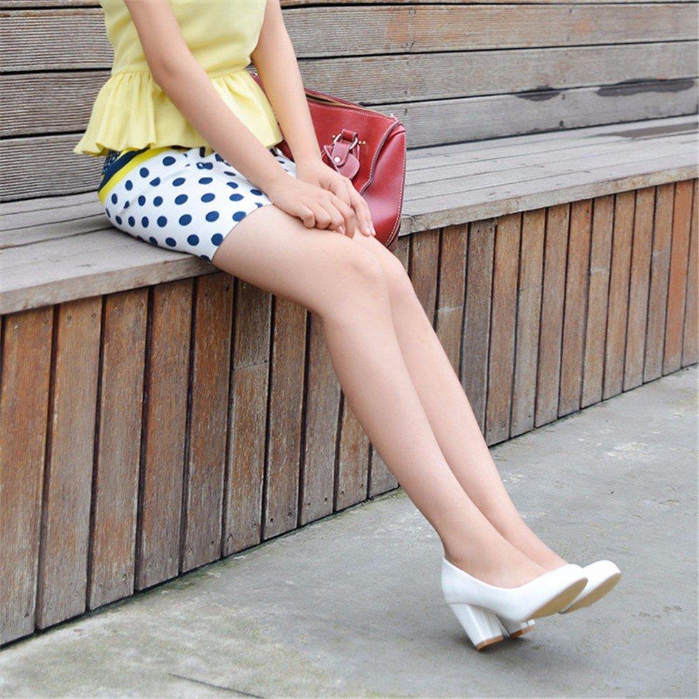 Reine Farbe Größe, Schuh, Lack, hochhackige Schuhe, Schuhe und Veranstaltungsräume Frauen, Schwarz, 31.