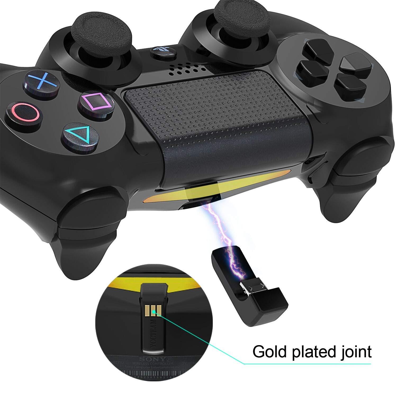 Amazon.com: DualShock 4 - Cargador controlador para ...
