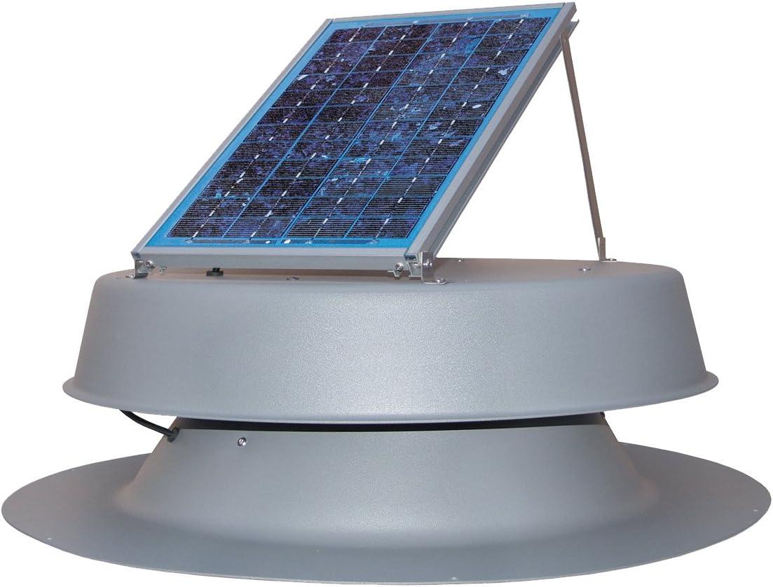 Natural Light 36 Watt Solar Attic Fan