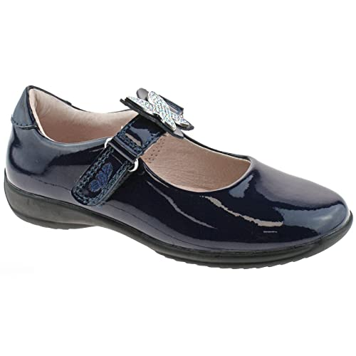 e616f6ef Lelli Kelly LK8305 (DE01) Angel Navy Blue Patent School Shoes F Fitting-25  (UK 7): Amazon.co.uk: Shoes & Bags
