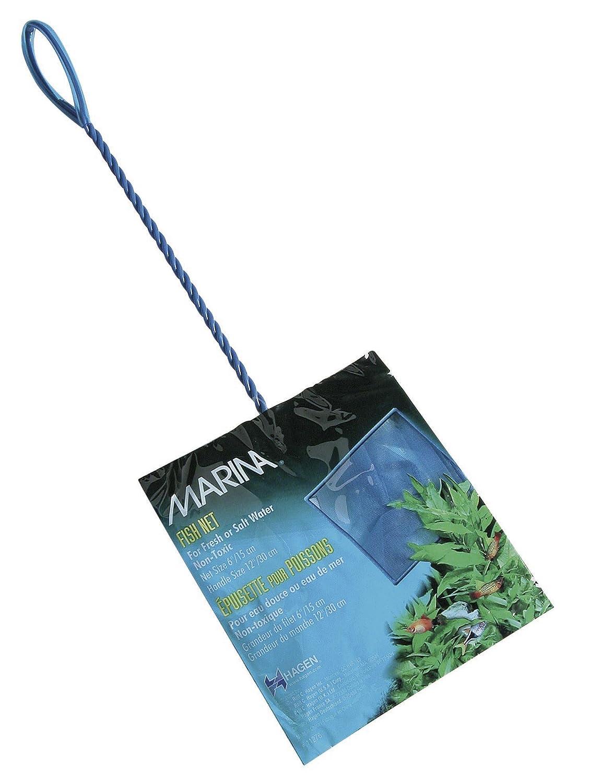 Marina Fluval Epuisette Bleue fines mailles - 10 cm (manche 23 cm) R C Hagen UK Ltd 11274