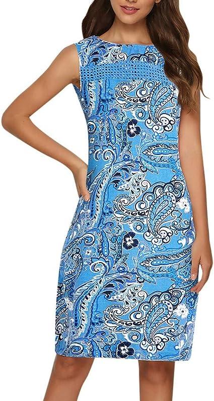 Vestidos Cortos Verano SUNNSEAN Vestido Formal de Cóctel Vestido ...