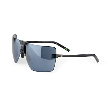 5d48c5dc9a0e Gargoyles Performance Eyewear Classic Polarized Safety Glasses, Black  Frame/Black Ice with Silver Mirror