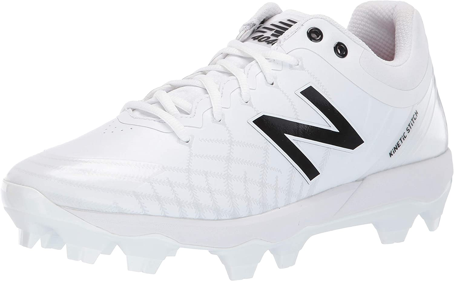 all black new balance cleats