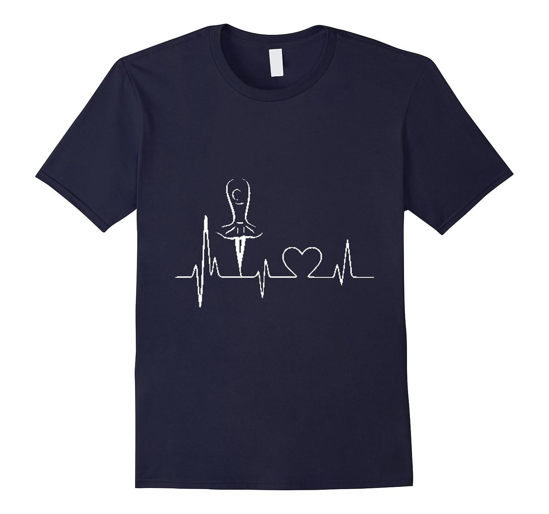 Ballet Dance Heartbeat T Shirt-Art