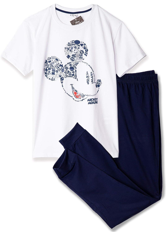 Pijamas Y Ropa De Salon M Xxl Disney Pijama Original Con Licencia Pijama De Mickey Mouse Para Hombre Y Nino Camiseta Y Pantalones Ropa Hombre