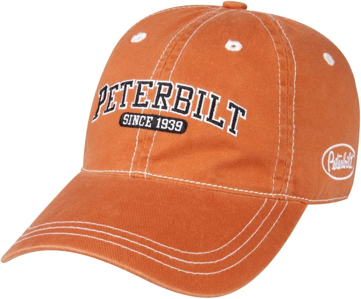 Peterbilt Trucks Motors Since 1939 Unstructured Burnt Orange Cap//Hat