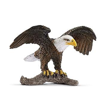 Schleich - Águila Calva, Figura (14780): Amazon.es: Juguetes y juegos