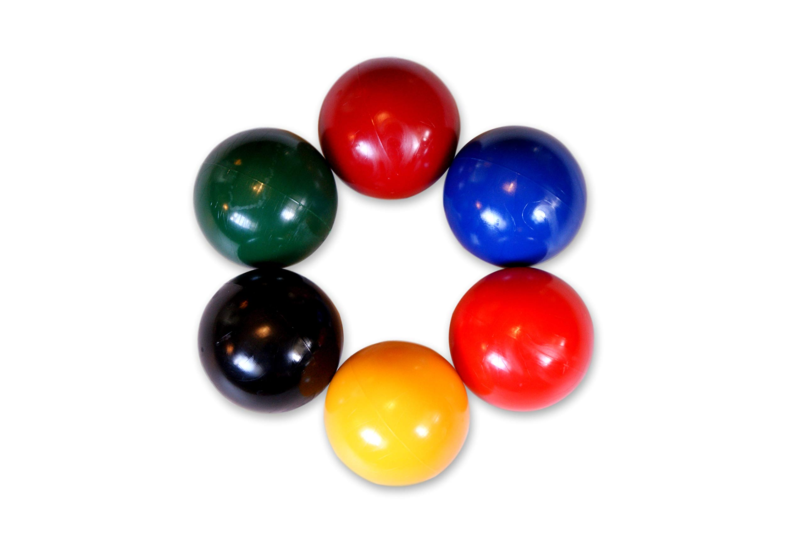 AmishToyBox.com Set of 6 Replacement Croquet Balls, Made in The USA, by AmishToyBox.com