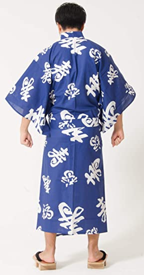 Black Temptation Kimono da uomo Robes da notte Pigiama Khan Accappatoio al vapore Yukata H