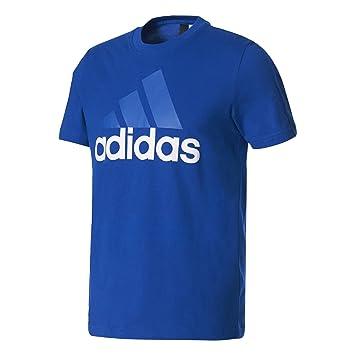 9d9c30dc0a4c adidas ESS liner Tee for Man, Blue (Reauni), 2XL: Amazon.co.uk ...