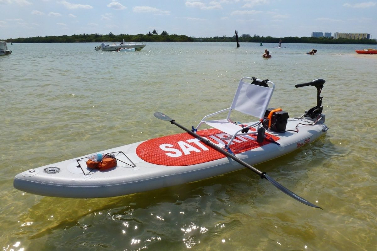 Saturn 12 ft motosup motorizado sup365 m inflable Stand Up Paddle Board ISUP/kayak inflable sup365 m: Amazon.es: Deportes y aire libre