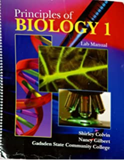 Amazon principles of biology lab manual 9780757561641 strong principles of biology 1 lab manual fandeluxe