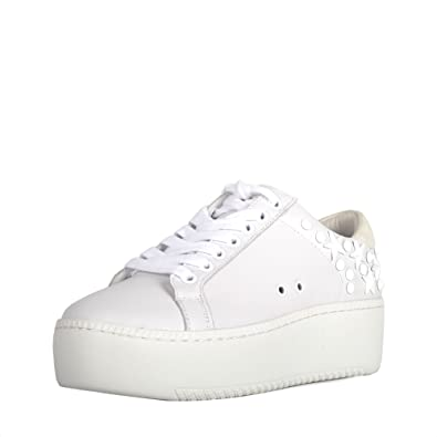 ab7679ef3eaa Ash Cyber Studded Trainers Snow White Leather   Suede 41 White ...
