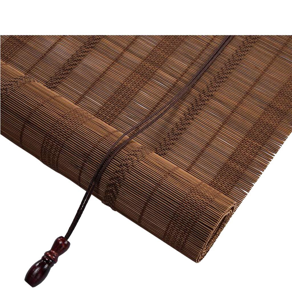 シャッターローラーブラインド竹のカーテン - 防塵と防水、自然な巾着竹のカーテン、50パーセントシェーディング、複数のサイズカスタマイズ可能 B07PLM44XD  120x180cm