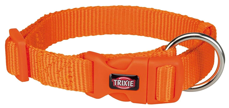 Trixie Premium Collar, L-XL: 40-65cm/25mm, Papaya