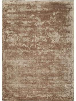 benuta Tapis Soie, Rayon, Marron Clair, 160X230 cm: Amazon.fr ...