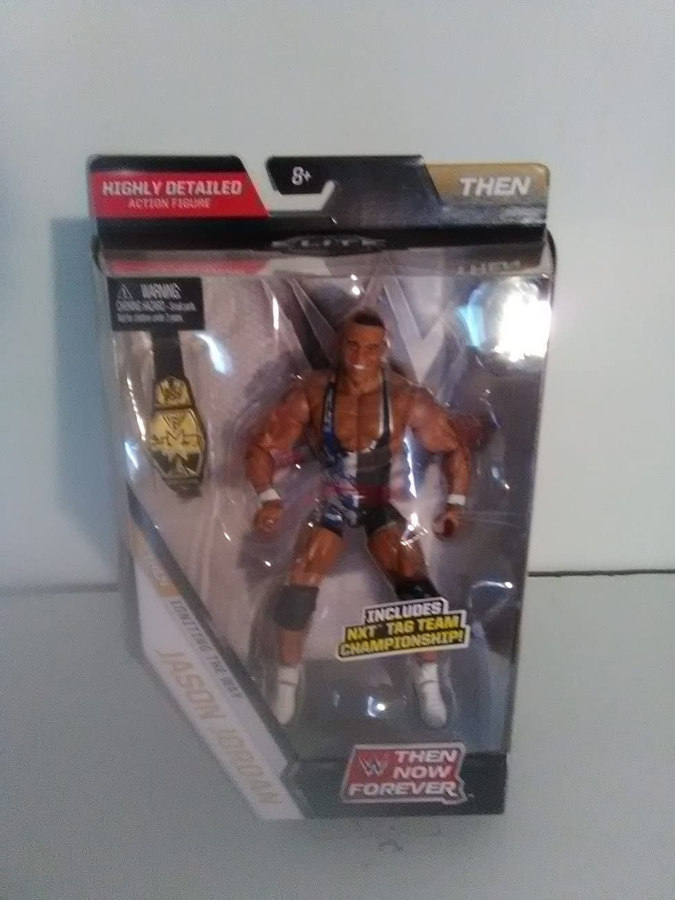 WWE Elite NXT Tag Team Championship belt Action figure Mattel