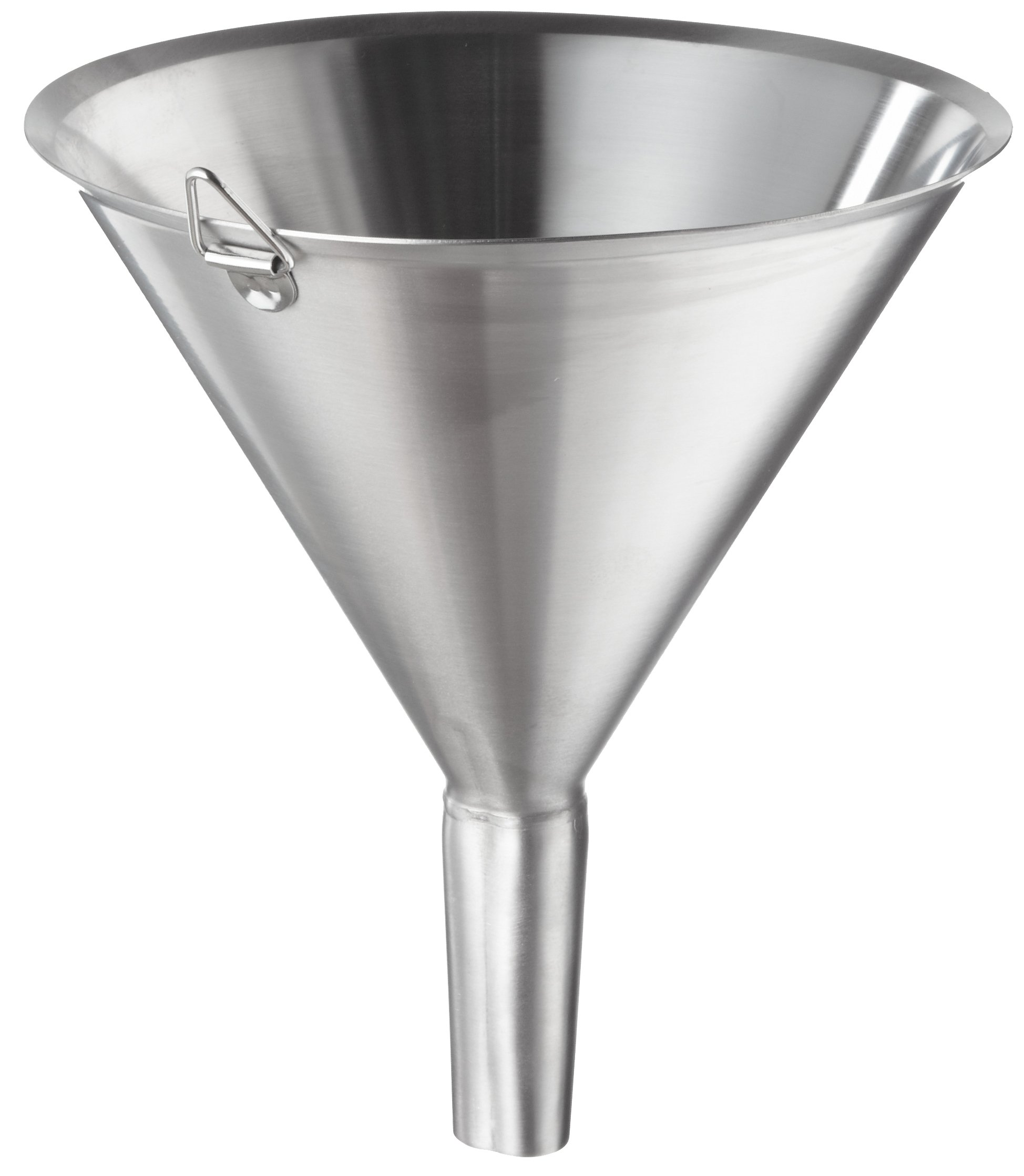 Polar Ware T1808F Stainless Steel Utility Funnel, 8-3/8'' OD x 9-1/2'' H, 64 oz. Capacity