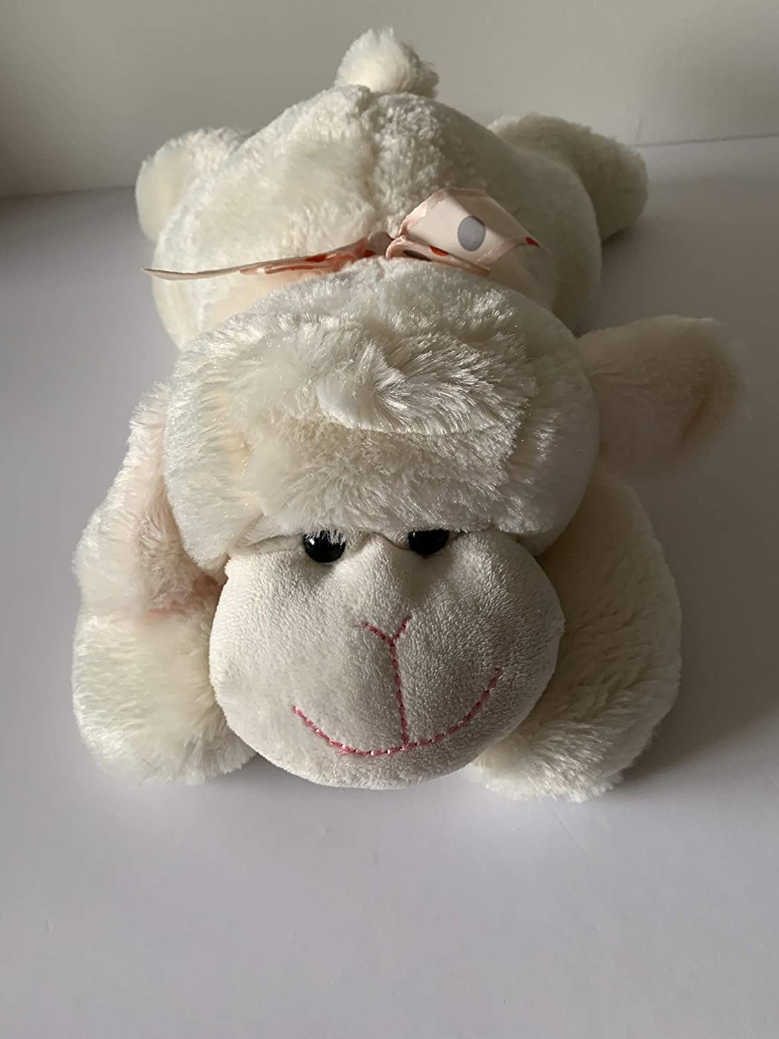 Weighted stuffed animal washable weighted buddy 2 1//2 lbs lamb