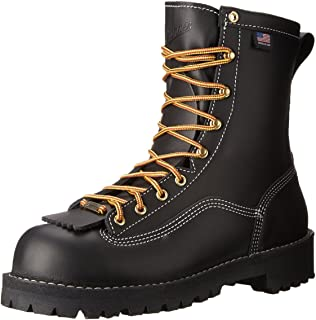 3840f44d94f Danner 18102 Men's Flashpoint II All Leather Work Boots - Black ...