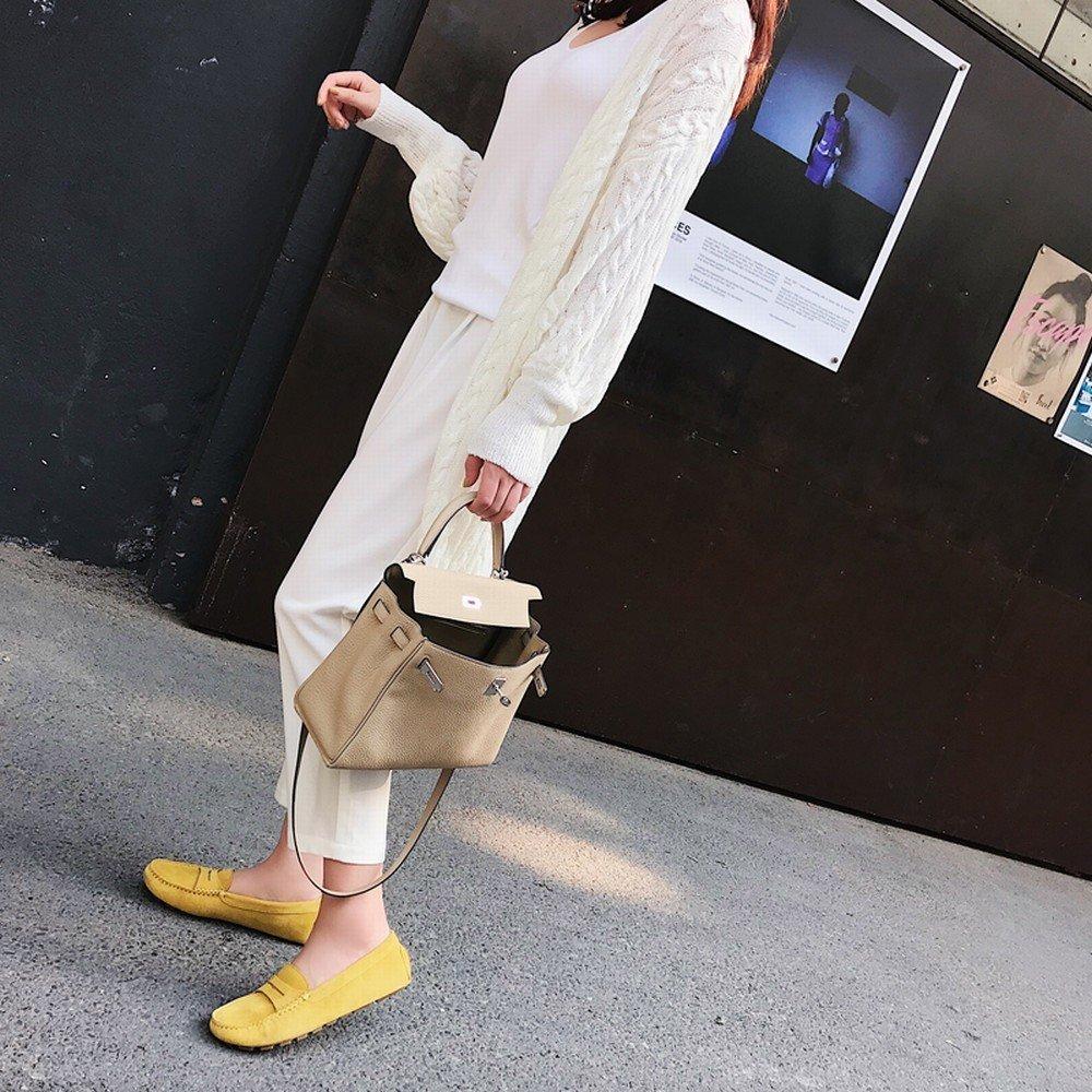 DHG e tondi piselli piatti testa un pedale scarpe pigre scarpe casual,UN,37 -