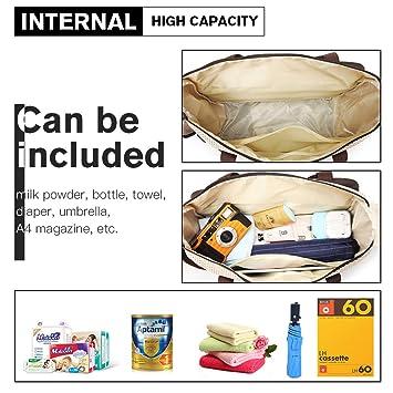 6 Stück Wickeltasche Schlafsäcke Set für Mutti Wasserfest Windel Krankenhaus