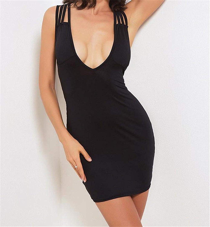 Zmli Womens Scoop Neck Slim Fit Sleeveless Stretchy Tank Midi Dress