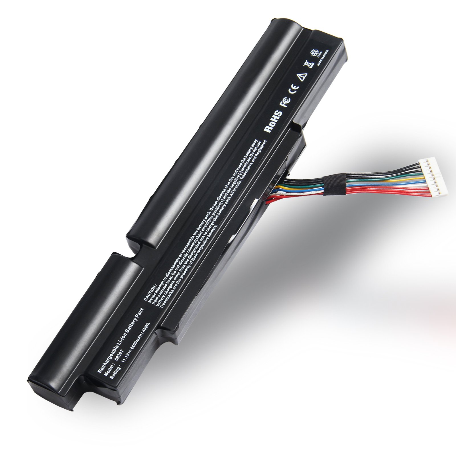 Fancy Buying 3ICR19/66-2 AS11A3E AS11A5E AS11B5E High Power Laptop Notebook Battery for ACER Aspire TimelineX 4830T-2413G25Mn 4830T-6642 4830TG [6 Cells 11.1V 4400mAh]