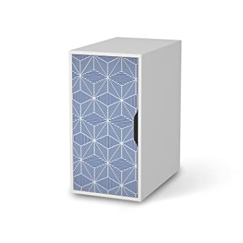 creatisto Verschönerung für IKEA Alex Schreibtisch-Schrank | Möbeldeko  Klebefolie Sticker Aufkleber Möbel überkleben | Modernes Wohnen ...