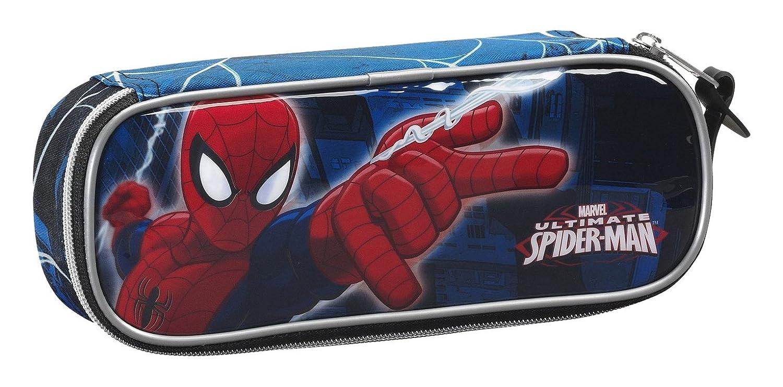 Spiderman- Estuche portatodo (SAFTA 811543752), Color Azul (: Amazon.es: Ropa y accesorios