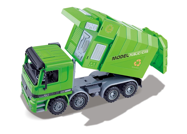 超特価SALE開催! AMPERSAND SHOPS B079C92XJC Kids Friction Powered Recycling Garbage Back Truck Side with Side Loading and Back Dump B079C92XJC, DEROQUE due:5da3dad8 --- a0267596.xsph.ru