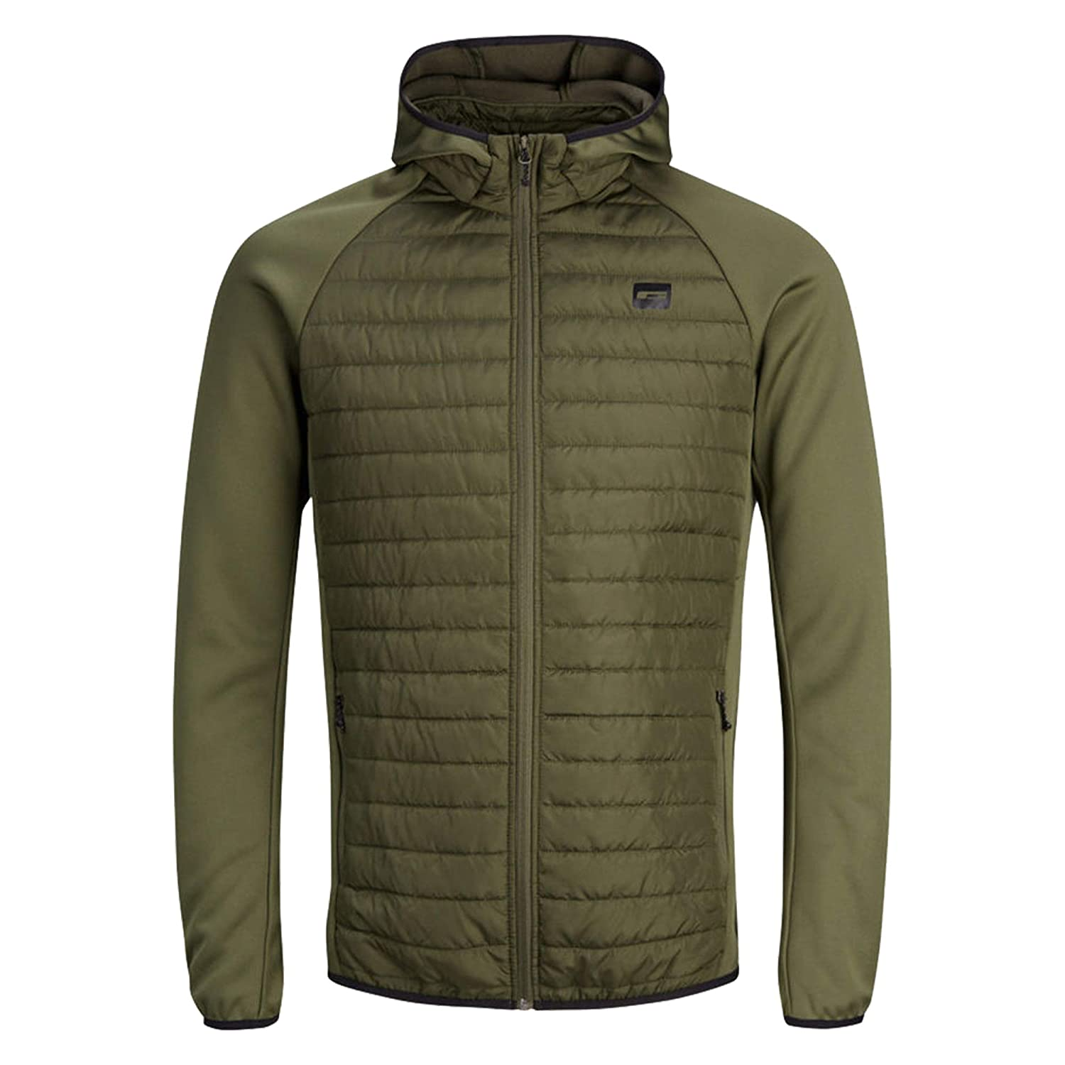Jack and Jones Boys Lightweight Puffer Multi Quilted Jacket 8 to 16 Year