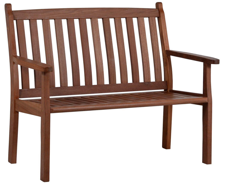 l nse gartenm bel holz gartenbank marburg 2 sitzer 120 cm balauholz jetzt kaufen. Black Bedroom Furniture Sets. Home Design Ideas