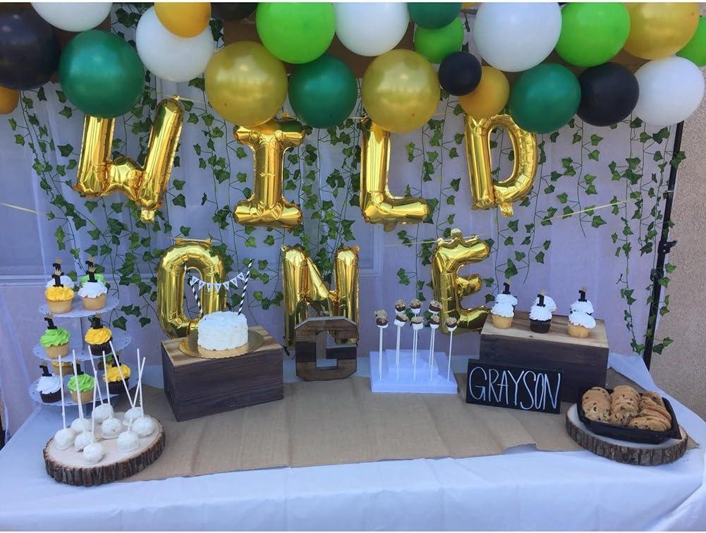 Number Balloon 16 Balloon Birthday Balloons Wild One Party 1st birthday First Birthday Balloons One Balloon Gold 1 Balloon