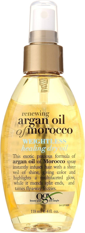 Ogx Moroccan Argan Oil Weightless Dry Oil 4oz by (OGX) Organix