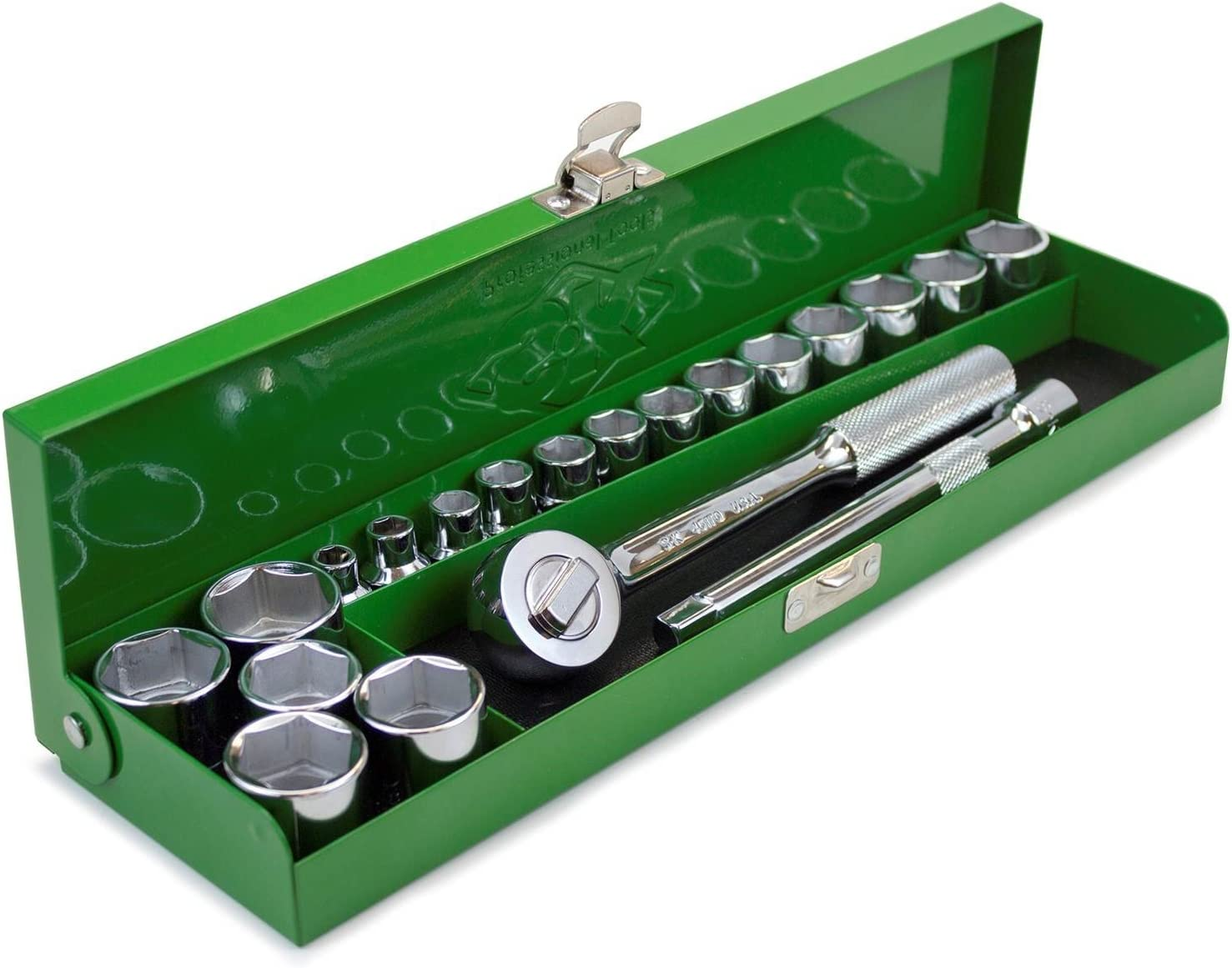 Wrench Racks and Tools Fractional SK Handtools Wrenches SuperKrome Finished Set of 15 Wrench Tools for Tightening Loosening Applications SK Hand Tools 86255 Fractional Combination Wrench Set