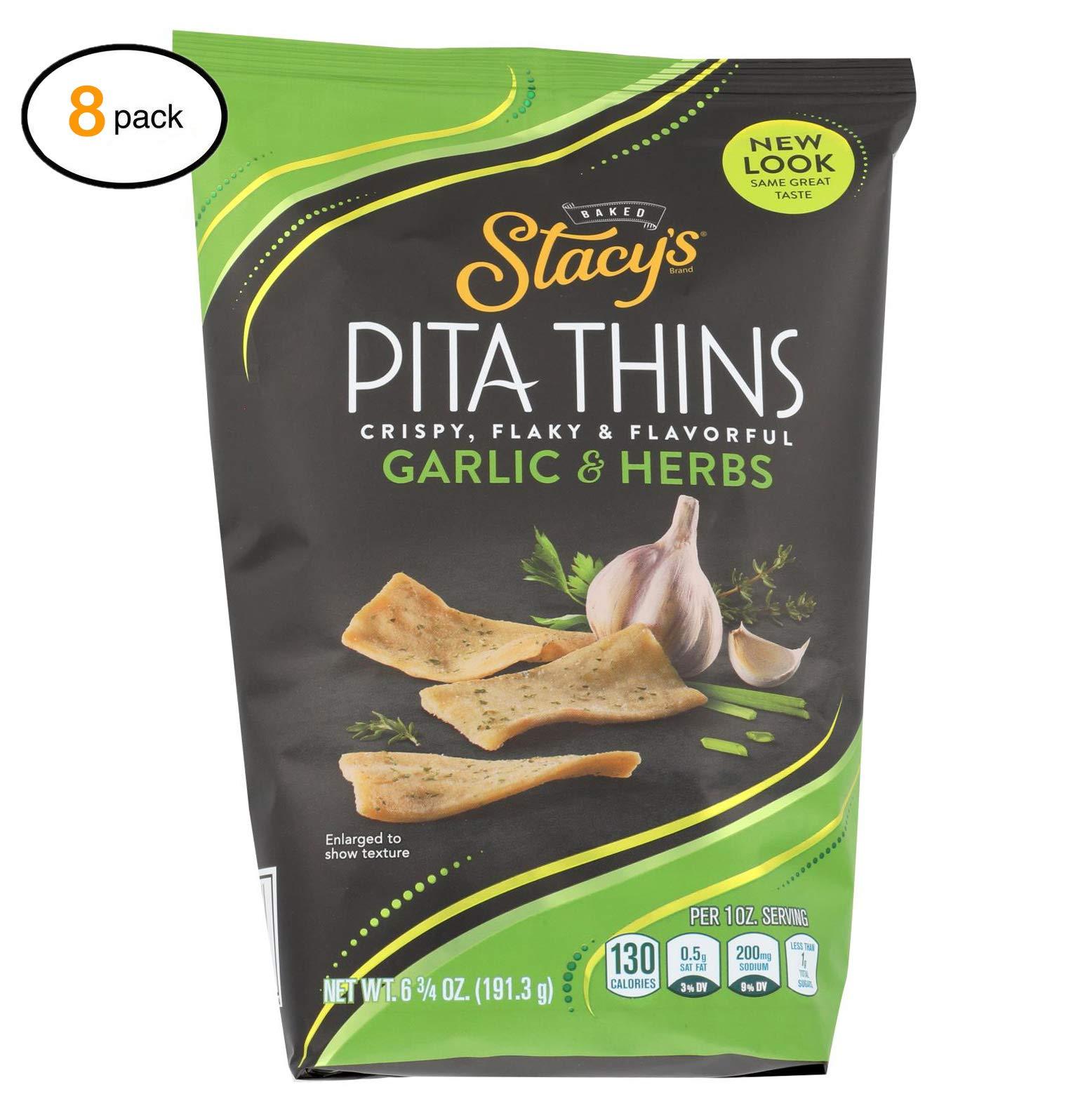 Stacy's Pita Chips Pеrfеctly Thymеd Pita Crisps - Casе оf 8-6.75 оz. - Bulk Buy by Stacy's Pita Chips