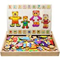 Flerise Kid's Magnetic Puzzles Learning Kit