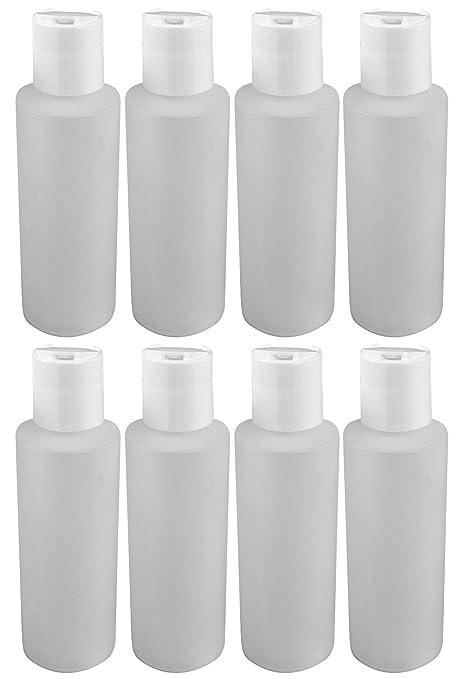 Amazon.com: 4 oz Squeeze botellas de plástico con disco ...