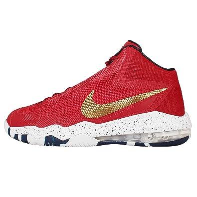 watch f8ebc b9e3c Nike Mens Air Max audacity PE Lmtd, PHATMAN-University RedMetallic Gold-