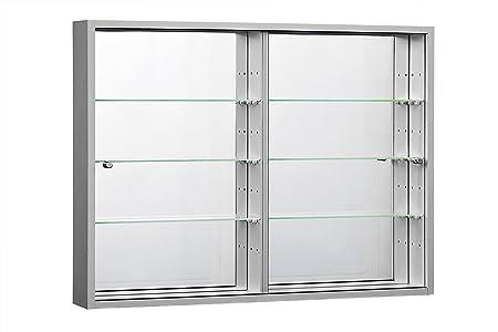 Orbit Gum Orbit Wallmounted Glass Display Cabinets Sliding Doors