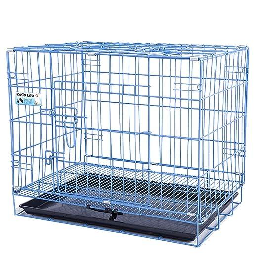 Jaula perro transportin Perro Gato Canasta para Perros de Metal ...