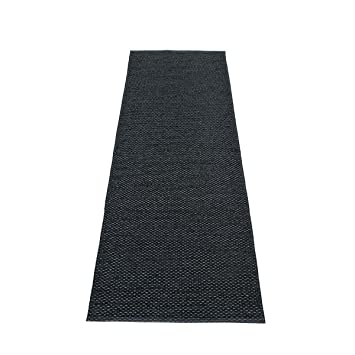 Pappelina Läufer pappelina läufer svea blackmetallic 70 x 400cm amazon de küche