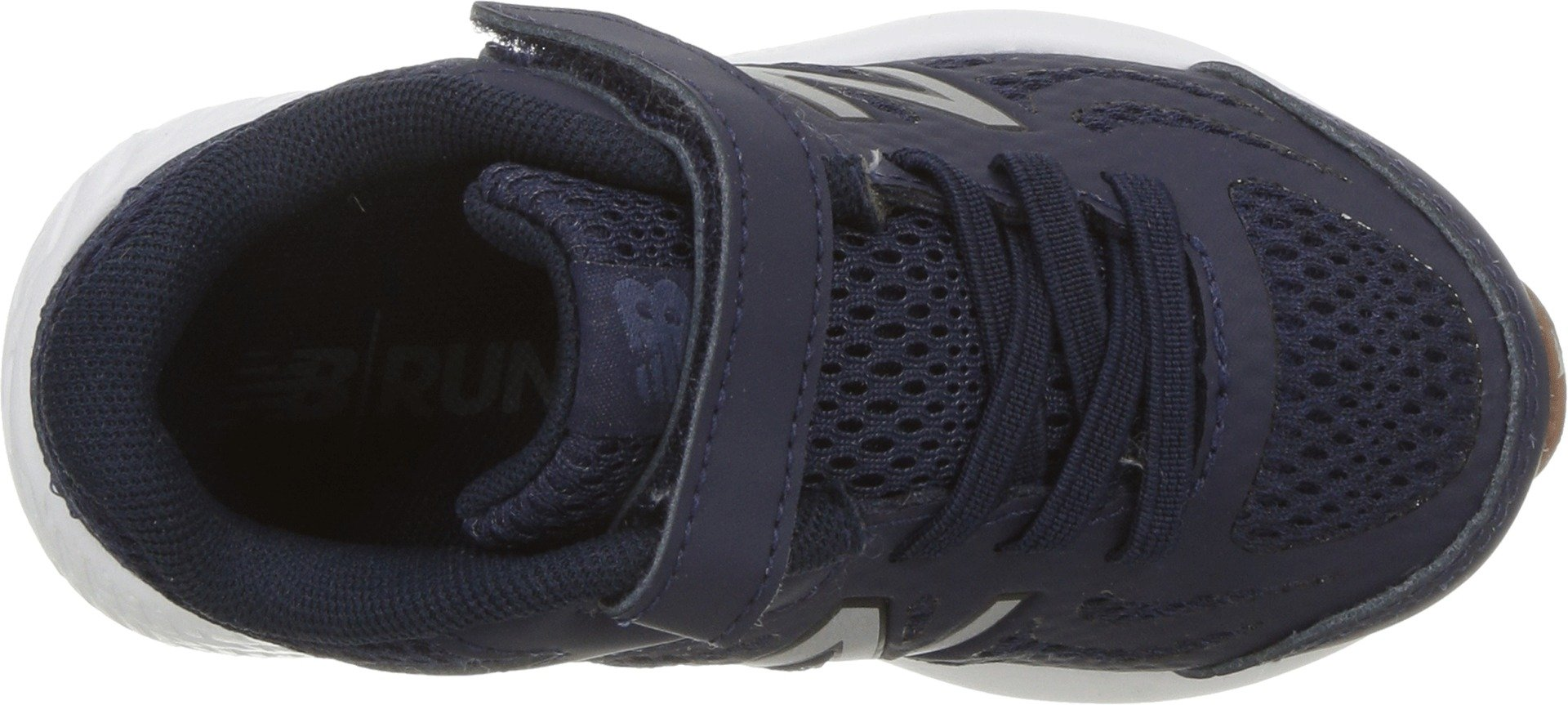 New Balance Boys' 519v1 Hook and Loop Running Shoe Pigment/Black 2 M US Infant by New Balance (Image #2)