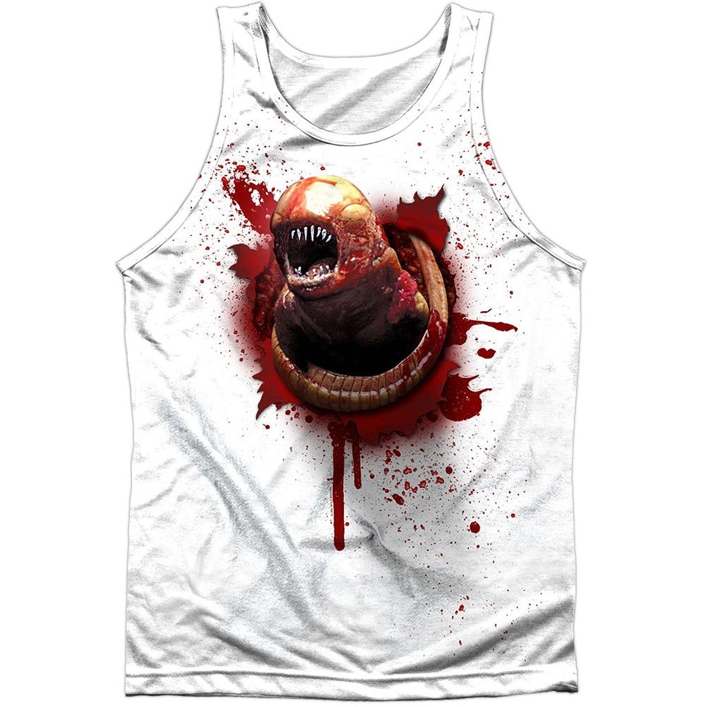 Alien Horror Sci-Fi Movie Kane Chest Alien Birth Front Print Tank Top Shirt